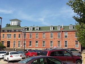 St. Luke's Hospital (Davenport, Iowa) - Image: Former St. Luke's Hospital East