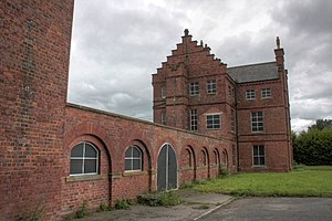 Approved School - St. Peter's School in County Durham, converted to an Approved School after the Second World War.