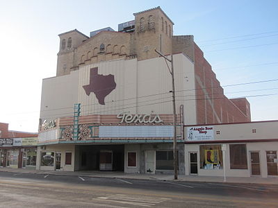 Former Texas Theater in downtown San Angelo Former Texas Theater in downtown San Angelo IMG 4476.JPG