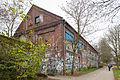 Former factory building Werner Ehlers bedspring down factory Linden-Nord Hannover Germany.jpg