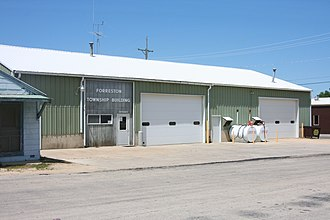Forreston Township, Ogle County, Illinois - Forreston Township Building in Forreston, Illinois.