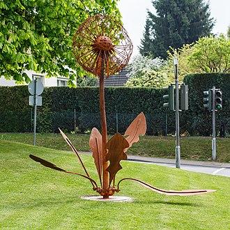 Скульптура Робина Курки Рёсрат Германия
