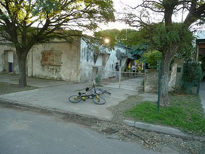 Fortín Olavarría - singing bicycle boys.jpg