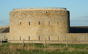 Fort Snelling - Fort Snelling's round tower