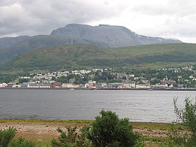 Fort William from Ardgour - geograph.org.uk - 900361.jpg