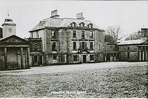 Foulden, Scottish Borders - Foulden House c1900