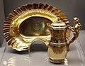 François-thomas germain, versatoio e bacinella, argento dorato, parigi 1756-62 ca.jpg