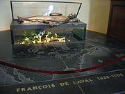 François de Laval tomb