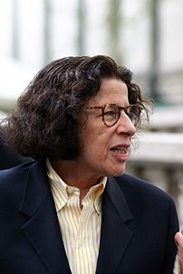 Writer Fran Lebowitz at Mercedes-Benz Fashion ...