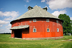 The Frank Senour Round Barn