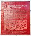 Frank Dawson Adams plaque.jpg