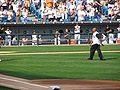 Frank Thomas 2005 ALDS first pitch.jpg