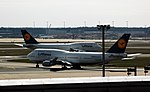 Frankfurt - Airport - Lufthansa - 2 Boeing 747-430 - D-ABTK und D-ABVZ - 2018-04-02 14-32-02.jpg