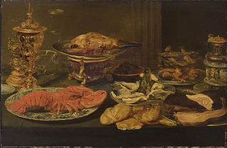 Nature morte avec un homard