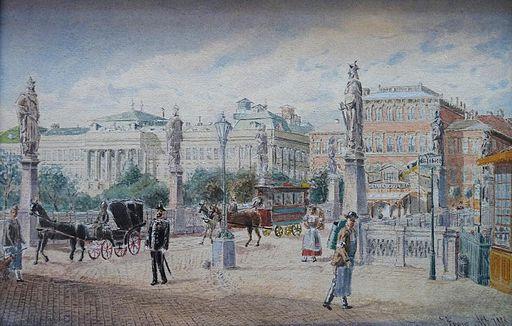 Franz Alt – Elisabeth bridge, Vienna