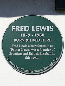 Fred lewis 1879   1960 born and lived here