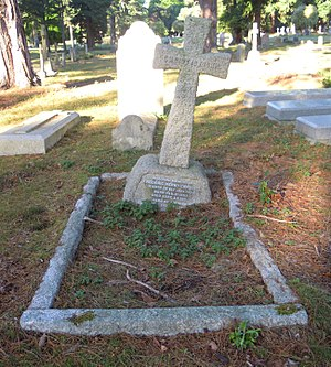Frederic Chase - Grave of Frederic Chase in Brookwood Cemetery