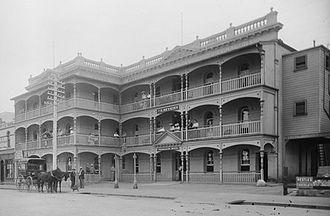 History of Albany, Western Australia - Freemason's Hotel, Albany ca. 1905