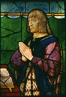 Louis XII de France (vitrail conservé au Walters Art Museum).