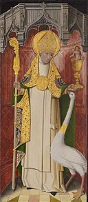 French School - Altarpiece from Thuison-les-Abbeville, Saint Hugh of Lincoln - 1933.1060 - Art Institute of Chicago.jpg