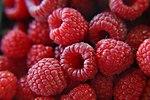 Fresh raspberries (272567650).jpg