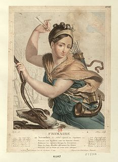 Frimaire month in the French Republican Calendar