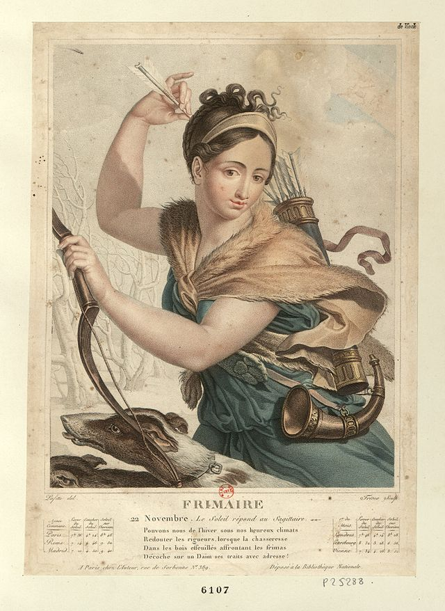 Terzo Mese Del Calendario Rivoluzionario Francese.Frimaio Wikiwand