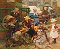 Fritz Schnitzler - A Busy Market.jpg
