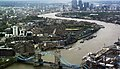 From the 'Shard' towards Canary Wharf, London. - panoramio.jpg