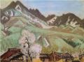 FujishimaTakeji-1931-Shinano in Spring.png