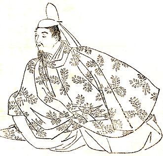 Fujiwara no Yoshifusa - Fujiwara no Yoshifusa by Kikuchi Yōsai