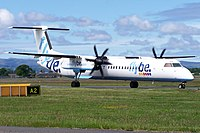G-JECX - DH8D - Flybe