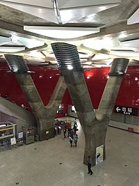 GZmtr Zoo Station Concourse Part 2.JPG
