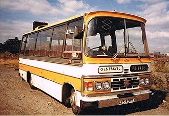 Duple Dominant - Image: G ^ S TRAVEL Flickr secret coach park
