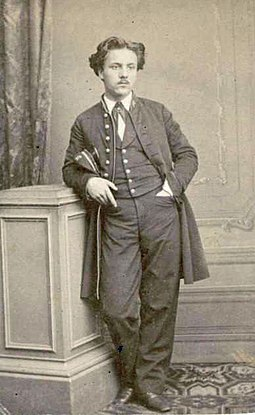 Gabriel Faure, pupil, protege and lifelong friend of Saint-Saens, as a student, 1864 Gabriel Faure en uniforme de l'Ecole Niedermeyer.jpg