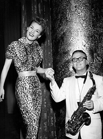 "Gale Storm - Storm with Billy Vaughn.  The two wrote ""You're My Baby Doll"" and performed it on Storm's television show in 1958."