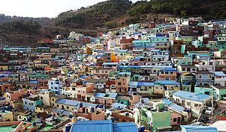 Gamcheon-dong - Gamcheon Colored Houses