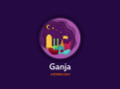Ganja city vector illustration.png