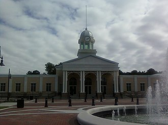 Garden City, Georgia - The building that is currently used as the Town Center of Garden City was opened to the public in 2009, under the administration of Mayor Andy Quinney.