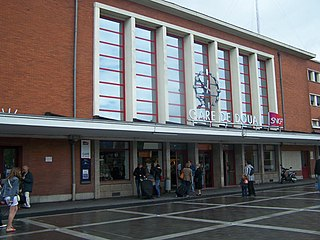 Gare de Douai railway station in France