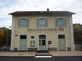 Image illustrative de l'article Gare de Lamure-sur-Azergues