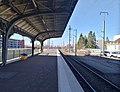 Gare de Saint-Louis (Haut-Rhin) - Quai voie B (fév 2019).jpg