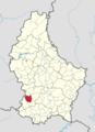 Garnech commune map.png