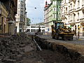 Gas pipeline reconstruction in Myslíkova Street, Prague (006).JPG