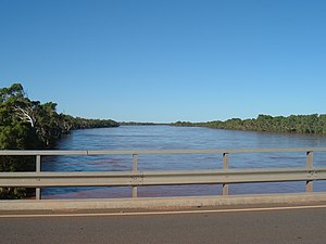 Gascoyne River - Gascoyne River in flood 2006