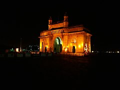 Gateway of India at Night 01.jpg