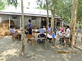 Gathering in a meeting of villagers in an Bangladeshi village 2015 04.jpg