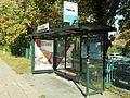 Gdańsk Oliwa przystanek autobusowy ulica Wita Stwosza.JPG