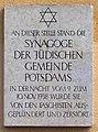 Gedenktafel Platz der Einheit 1 (Potsdam) Synagoge.jpg