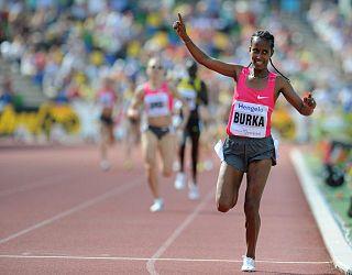 Gelete Burka Ethiopian runner